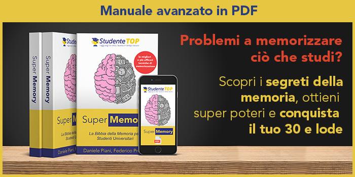 Manuale memorizzazione