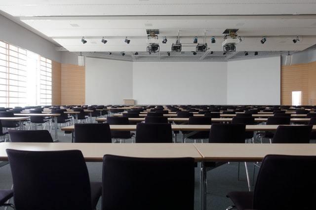lezione universitaria in aula